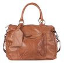 Cowboysbag Damen Leder Handtasche Londonderry Bag Cognac (braun)