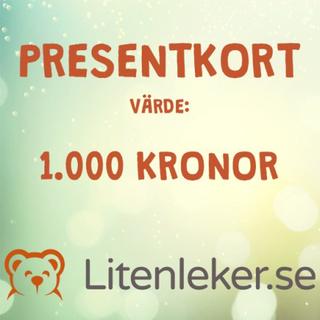 LL Litenleker - Presentkort 1 000 kr