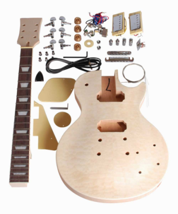 Beaton DIY-LP-13 el-gitar-byggesett