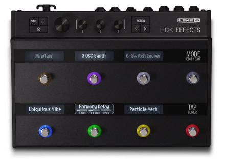 Line 6 HX Effects gitar-multieffekt-pedalboard