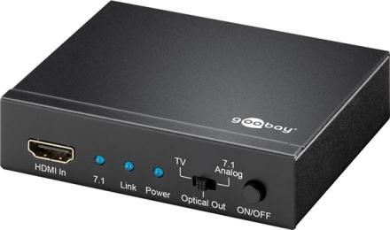 Goobay HDMI 4K2K 7.1 Audio Extractor