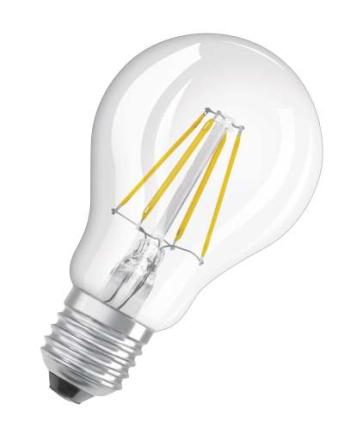 Osram Parathom Retro LED Standard 5W/827 (40W) E27 dimbar - Klar