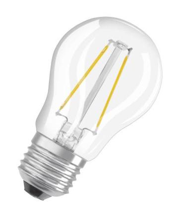 Osram Parathom Retro LED Klot 5W/827 (40W) E27 dimbar - Klar