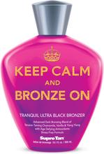 Keep Calm & Bronze On Black Bronzer 300 ml.