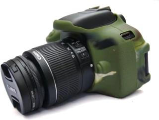Canon EOS 600D/650D/700D Foto Kamera Beskyttelses deksel laget av silikon - Kamuflasje