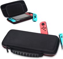 OIVO Nintendo Switch Etui laget av canvas duk - Svart