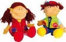 Puppen Nicoletta und David