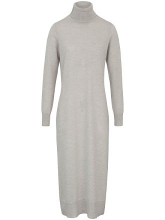 Strikkjole i 100% ren ny uld Fra DAY.LIKE grå - Peter Hahn
