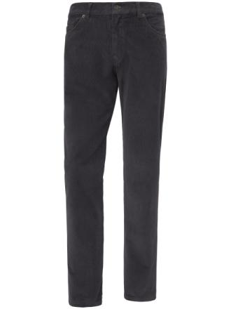 Fløjlsbuks, model Cooper Fancy Fra Brax Feel Good grå - Peter Hahn