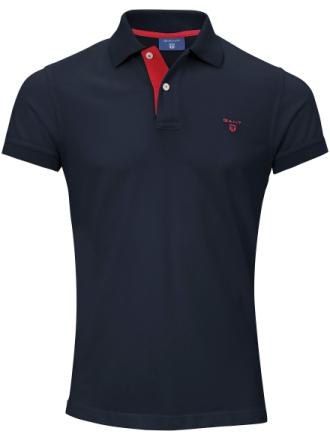 Poloshirt 1/2-lange ærmer Fra GANT blå