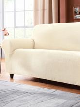 Sofahusse für 3-Sitzer ca.75-90cmx185-210cm (HxB) Peter Hahn beige