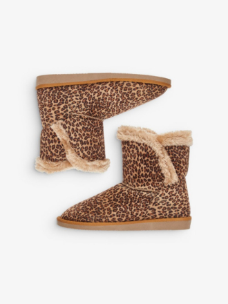 VERO MODA Leopard Boots Women Brown