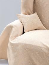 Überwurf für Sofa und Bett, ca. 160x250cm Peter Hahn beige