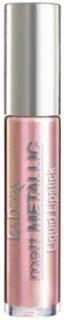 Isadora Matte Metallic Liquid Lipstick Läppstift Pink Lustre