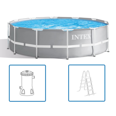 Intex Prism Frame swimmingpoolsæt 366 x 99 cm 26716GN