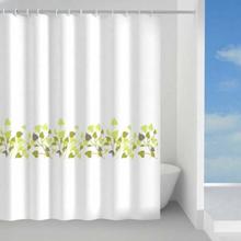Hefe Dusjforheng 120x200 cm, Grønn blomst