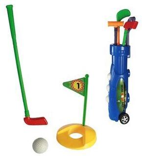 Plastik Caddie Golfsæt (9 Dele)