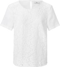 Blus i rent linne från Peter Hahn vit