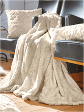 Fellimitat-Decke Proflax beige