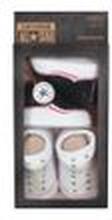 Converse Baby 2-er Geschenk-Set Socken schwarz weiß
