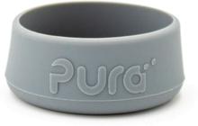 Pura Kiki - Bodenschutz (Bumper) für 150ml & 250ml & 325ml Flaschen - (je 1 Stück) - Grau - Unverpackt