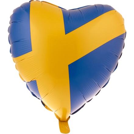 Folieballong 45cm hjärtformad