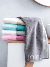 Handtuch in Wende-Optik ca. 50x100cm Joop! grau