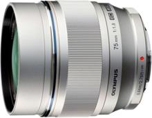 Olympus ED 75mm 1:1:8 / ET-M7518 silv