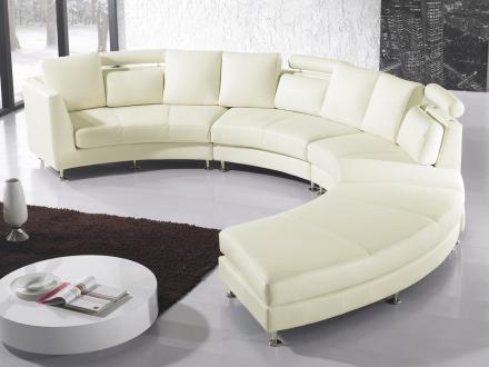 Rund Sofa Hvid Rotunde