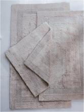 Badematte, ca. 70x120cm Cawö silber