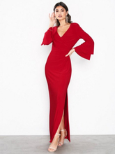 Lauren Ralph Lauren Ashlynara-3/4 Sleeve-Evening Dress Maxiklänningar