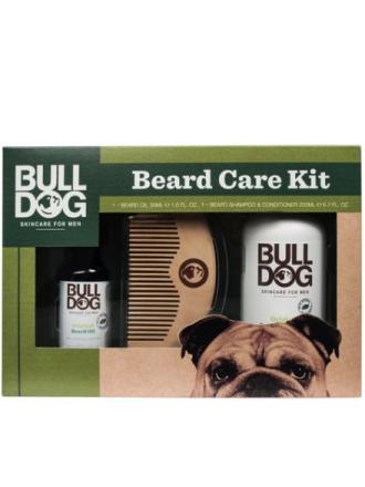 Bulldog Original Beard Care Kit Kasvojenhoito Valkoinen