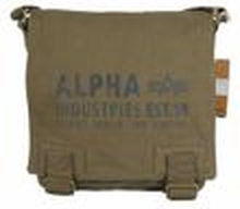 ALPHA Industries Cargo Canvas Utility Bag Schultertasche olive