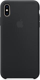Apple Silicone Case til Apple iPhone XS Max Sort