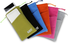 BUBM BM-DH006 Tragbarer Drawstring Hartes Carring Case Double Layer Travel Storage Bag