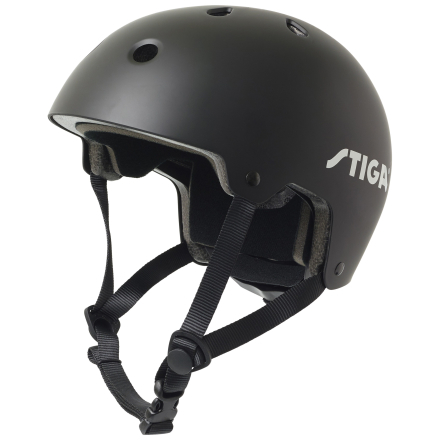 Stiga Street RS Hjelm - Sort