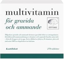 Multivitamin för gravida&ammande 270 tablettia