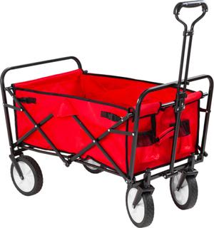 Utenu Hopfällbar Vagn Röd