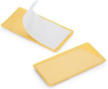 Etikettenhalter in Gelb, magnetisch, 40 x 120 mm