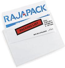 Dokumententaschen RAJALIST Eco bedruckt, ''Packing List'' 220 x 160 mm