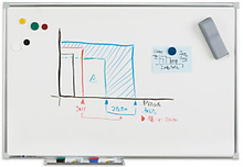 Whiteboard LEGAMASTER ECONOMY PLUS 60 x 90 cm