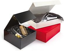 Geschenkbox mit Magnetverschluss 225 x 225 x 105 mm elfenbein