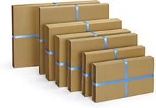 Buchverpackung braun 220 x 280 mm