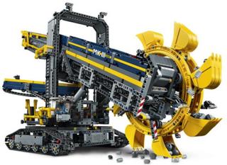 Skovelhjulsgrävmaskin - Lego 42055 Excavator Technic