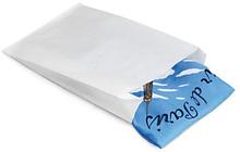 Papierbeutel Weiß Eco mit Seitenfalte - 230 x 80 x 350 mm