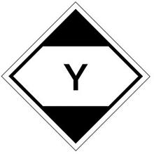 Gefahrenetikett - Gefährliche Güter in begrenzten Mengen