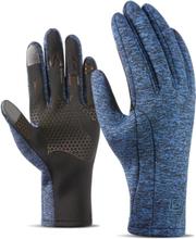 Männer Winter Warm Vogue Touchscreen Wasserdichte Vollfingerhandschuhe Outdoor Ski Fahren Handschuhe