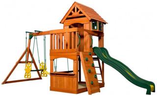 Atlantic utomhus lekplats - Backyard lekställning 608016