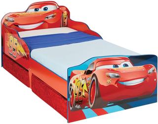 Lynet McQueen juniorseng u. madras - Disney Cars Børnemøbler 663561