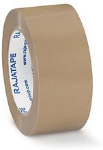 PVC Packband RAJATAPE widerstandsfähig, braun, 50 mm x 66 m - 60µ
